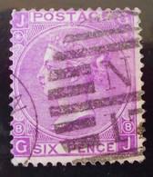 REINE VICTORIA 1867/69 - OBLITERE - YT 34 (VIOLET FONCE) - 1840-1901 (Victoria)