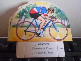 LA VACHE SERIEUSE DUPONT CYCLISTE CYCLISME TOUR DE FRANCE VELO SPORT IMAGE CADEAU - Autres Collections