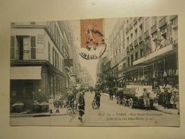 CPA,Paris Rue Saint Dominique écrite,année 1905,thème Paris,très Bel état - Parques, Jardines