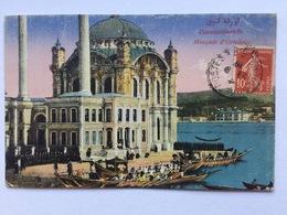 Turkey Türkei Turquie ~ 1920, Constantinople Istanbul, Mosquee D' Ortakeuy, Circulé, Used - Turkije