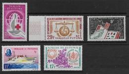 1963 à 1968 Wallis Et Futuna N° 168 169 170 171 172  Nf** MNH . - Wallis-Et-Futuna