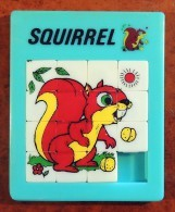 Taquin - Pousse Pousse - Grand Modèle - Animal - Écureuil - Squirrel - Acertijos