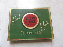 Boite En Tole Verte LUCKY STRIKE US - 1939-45