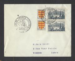 FRANCE.  YT  Tour De France Cycliste  MARSEILLE  9-7-1957 - 1921-1960: Période Moderne
