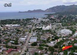 AK Osttimor East Timor Dili Aerial View New Postcard - Osttimor