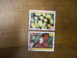 POLYNESIE N593 Et597 Ob Fruit Annee 1998 - Französisch-Polynesien
