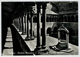 BOLOGNA    BASILICA  MONASTERO   DI  S.  STEFANO      IL   CHIOSTRO        (NUOVA) - Bologna