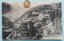 Gotthard--und Bätzbergstrasse, Befestigungen, 1915 - GL Glaris
