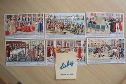 FIGURINE LIEBIG LA STORIA D'ITALIA SERIE COMPLETA CON FASCETTA SERIE NR. 225 - Collezioni