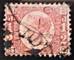 REINE VICTORIA 1870 - OBLITERE - YT 49 - 1840-1901 (Victoria)
