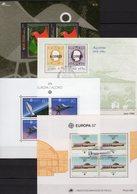 EUROPA 1980-2003 Azoren Blocks 1,8,10+25 O 29€ Plakat Space Bloque Hojita Ship Art Blocs Bird M/s Fauna Sheets CEPT - Europa-CEPT