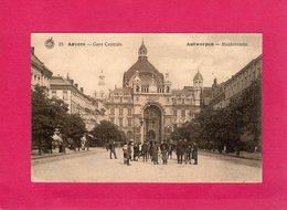 Belgique, Anvers, Gare Centrale, Antwerpen, Middenstatie, Animée, (G. Hermans) - Belgio