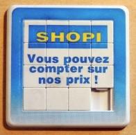 Taquin - Pousse Pousse - SHOPI - Vous Pouvez Compter Sur Nos Prix - Brain Teasers, Brain Games