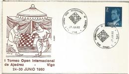 VIGO PONTEVEDRA 1980 TORNEO DE AJEDREZ CHESS - Ajedrez