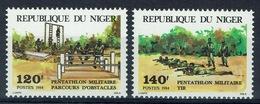 Niger, Military Pentathlon, 1984, MNH VF A Pair - Niger (1960-...)