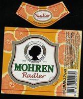 Autriche Lot 2 Etiquettes Bière Beer Labels Mohrenbräu Mohren Radler Grapefruit Pamplemousse - Bière