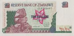 Zimbabwe / 10 Dollars / 1997 / P-6(a) / UNC - Zimbabwe