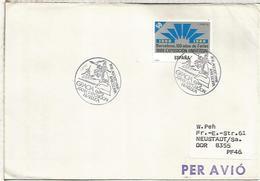 BARCELONA 1988 MAT EXPOSICION FILATELICA GRACIA - 1931-Hoy: 2ª República - ... Juan Carlos I