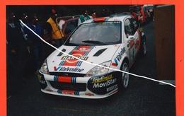 Rally Cars Ford Focus  Rally San Remo 2001 Foto Originale - Automobili
