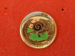 Pin's ESCARGOT - A.P.P.E.S CHATEAU THIERRY - Animaux