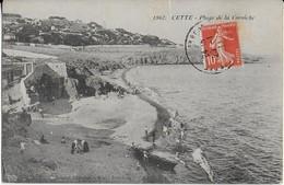 SETE ; Plage De La Corniche ( 1911) - Sete (Cette)