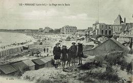 Pornichet (157), La Plage Vers La Baule, Jolie Carte - Pornichet
