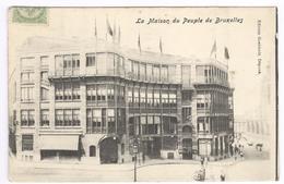 1908 Bruxelles - Brussels -  La Maison Du Peuple De Bruxelles - Ed. Goebbels - Monumenti, Edifici