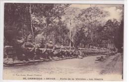 Asie - Cambodge - Bayon - Porte De La Victoire - Les Géants - Cambodge