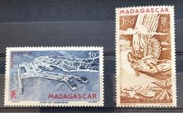 Nº 83 - 84 ** - Madagascar (1889-1960)