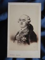 Photo CDV  Jacotin à Paris  Portrait Louis XVI - L436G - Old (before 1900)