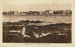 Pornichet (163), La Plage à Marée Haute, Jolie Carte Circulée - Pornichet