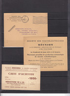 FRANCE 3 DOCUMENTS SUR RADIO ELECTRICIENS - Poststempel (Briefe)