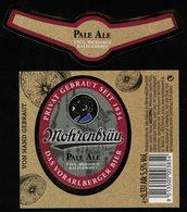 Autriche Lot 2 Etiquettes Bière Beer Labels Mohrenbräu Pale Ale - Bière