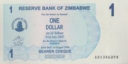 Zimbabwe / 1 Dollar / 2006 / P-37(a) / UNC - Zimbabwe