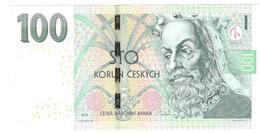 Czech Republic 100 Korun 2018 P18b UNC - Tchéquie