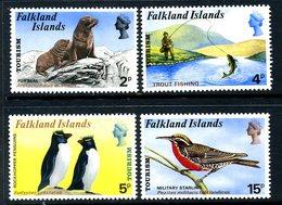 Falkland Islands 1974 Tourism Birds Seals Set Of 4, MNH, SG 296/9 - Falkland Islands