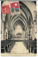 St-JOUAN-de-l'ISLE  Intérieur De L'Eglise Ed. Sorel (5mm Déchirure Bas Gauche Peu Visible) - France