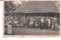 CPA DAR-ES-SALAAM (UGANDA - TANGANYIKA) NATIVE DANCE (CACHET CENSURE) - Uganda