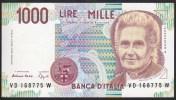 Italy 1000 Lire 1990 P114b UNC - [ 2] 1946-… : République
