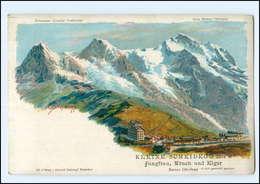 U6665/ Kleine Scheidegg Litho AK  C. Steinmann   Ca.1900 - Switzerland