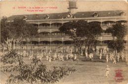 CPA Saigon Colonial Rompez Vos Rangs VIETNAM-INDOCHINA (841324) - Viêt-Nam