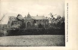 BELGIQUE - LIMBOURG - GENK - GENCK - Eglise De Genck Détruite Par Le Cyclône Le 12 Mai 1912. - Genk