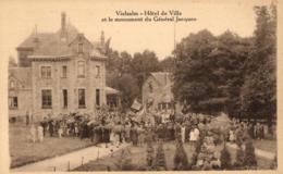 BELGIQUE - LUXEMBOURG - VIELSALM - Hôtel De Ville Et Le Monument Du Général Jacques. - Vielsalm