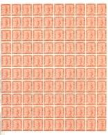 Saint-Marin  YT N° 33 En Bloc 100 Timbres Neufs ** MNH. TB. A Saisir! - Neufs