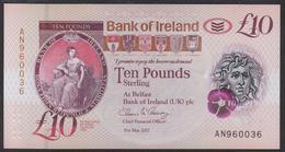 Northen Ireland Bank Of Ireland 10 Pound 2019 Pnew UNC - [ 2] Ireland-Northern
