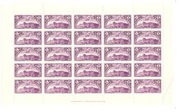 Saint-Marin Poste Aérienne YT N° 4 En Bloc De 25 Timbres Neufs ** MNH. TB. A Saisir! - Poste Aérienne