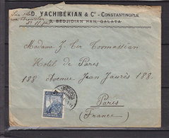 TURKEY COVER WITH AN ARMENIAN NAME - 1921-... Republic