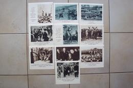 FASCISMO FOGLI DI CALENDARIO RITAGLIATI DELLA DATA ANNO 1933 DUCE MUSSOLINI AVIAZIONE MISURANO CM 12x11,5 - Formato Piccolo : 1921-40