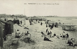 Pornichet (173), Vue Générale Des Plages, Jolie Carte - Pornichet