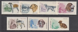Albania 1966 - Dogs, Mi-Nr. 1104/10, MNH** - Albanie